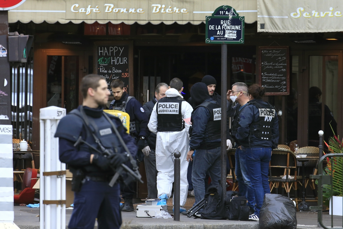 Paris terrorist shooting