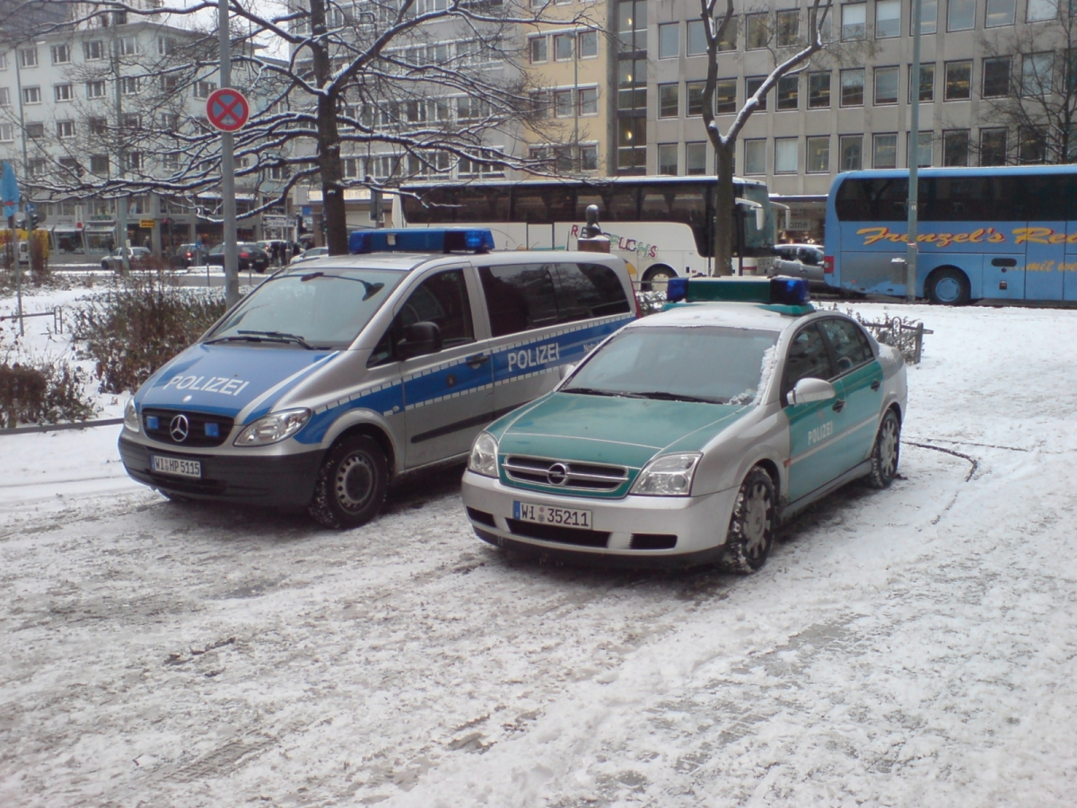 Germany police vehicles