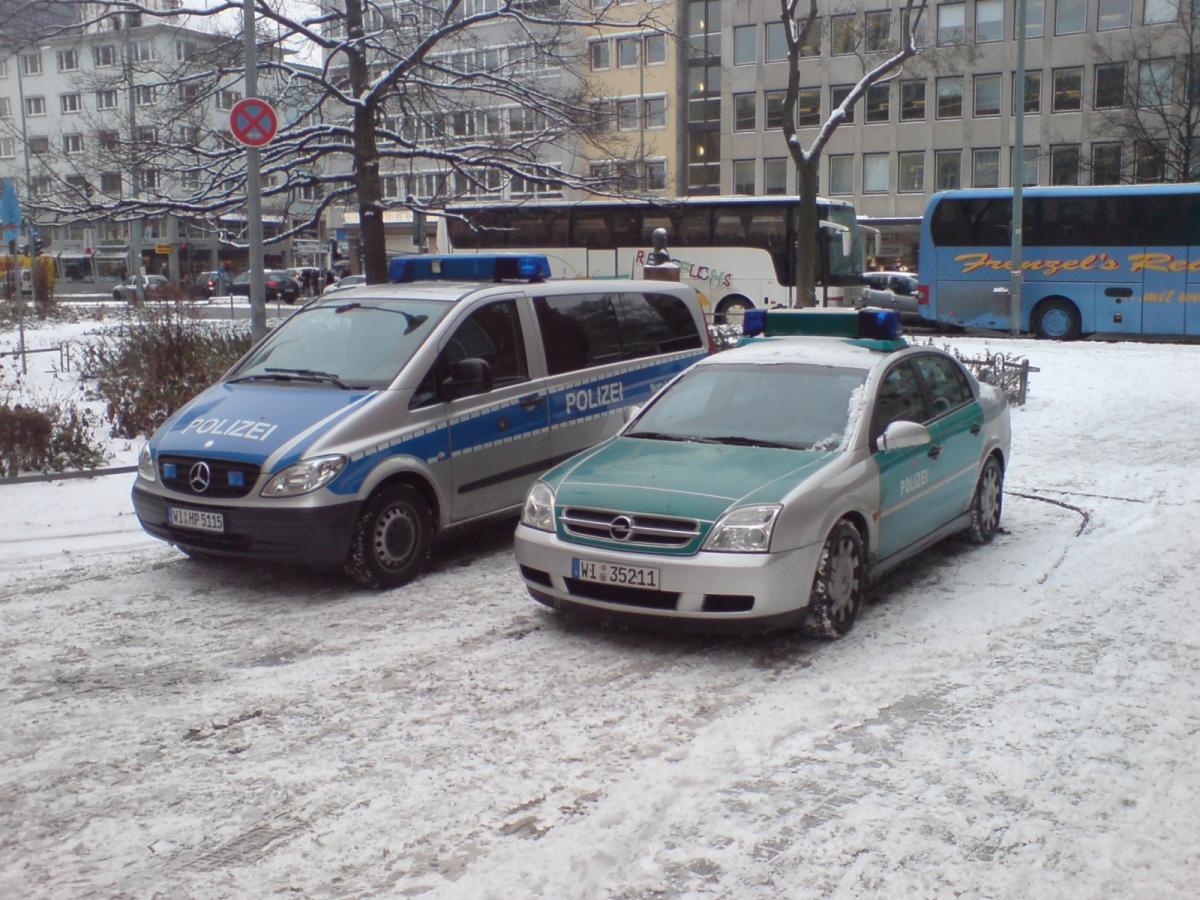 Germany police vehicles