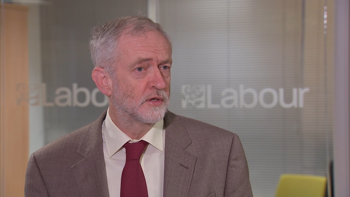 """Jeremy Corbyn says """"this is an attack on all of us"""""""