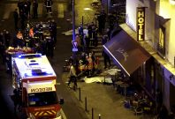 Paris attacks shooting scene aftermath