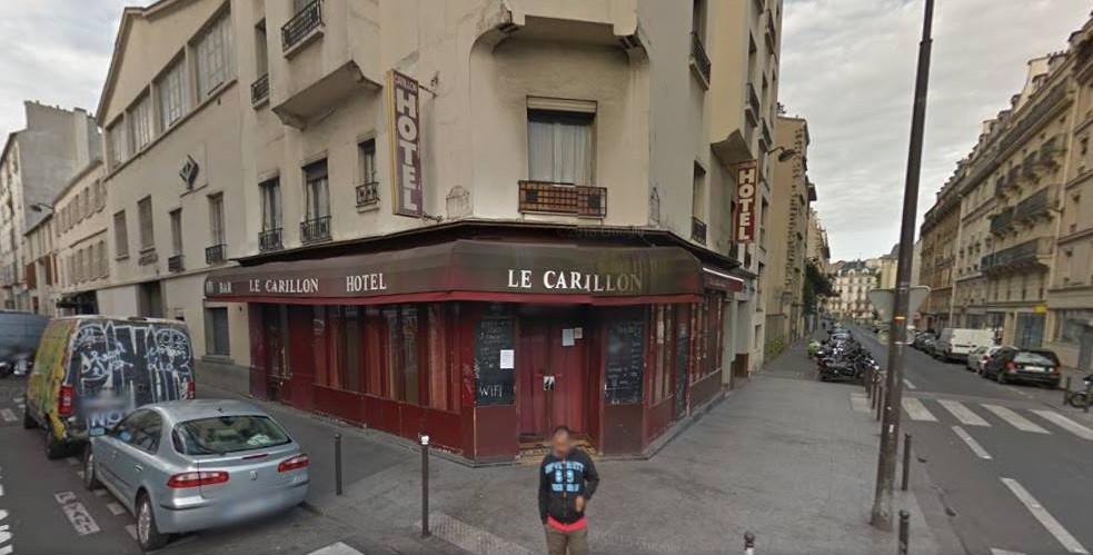 Le Carillon bar in Paris