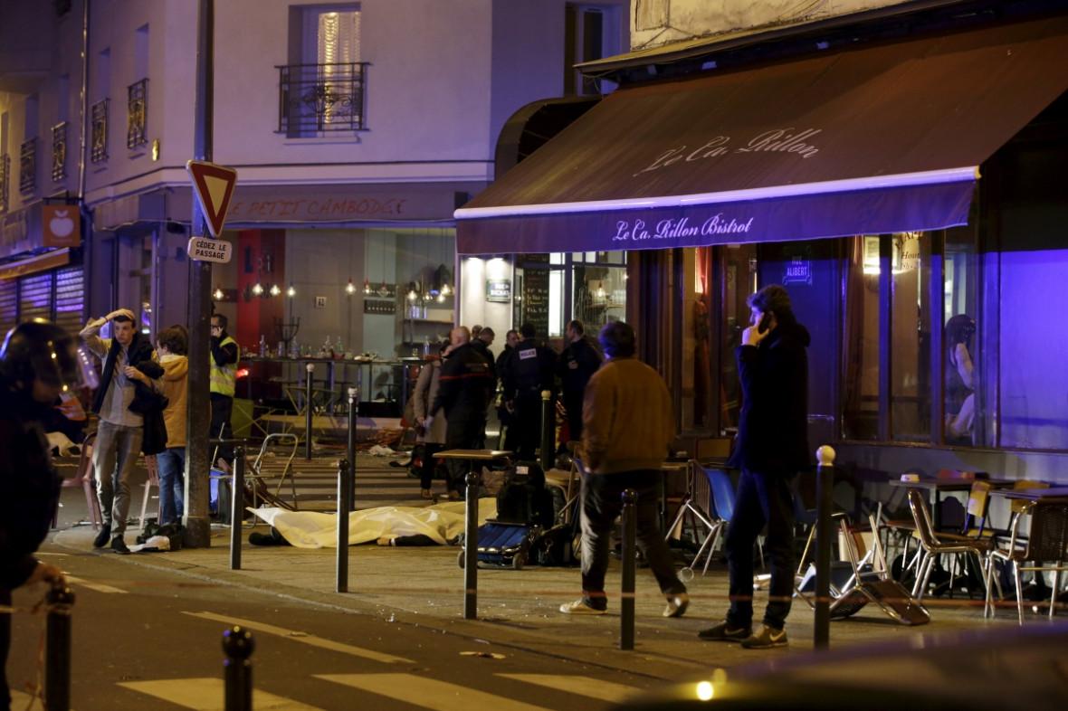 Paris restaurant shootings