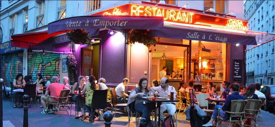 Cosa Nostra Pizzeria in Paris