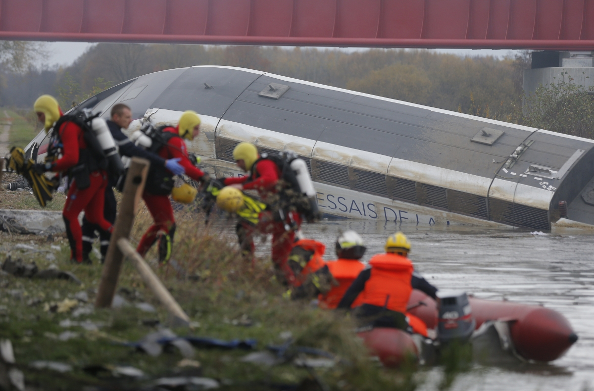 Strasbourg TGV train crash