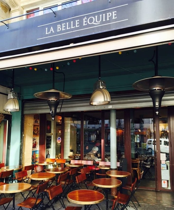 Le Belle Equipe restaurant