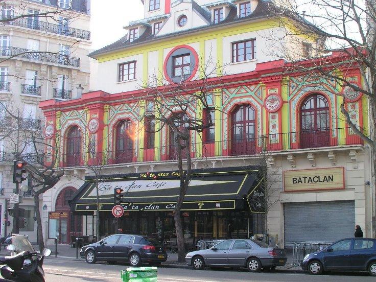 The Bataclan Hall in Paris