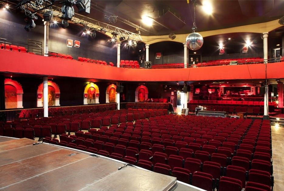 Inside the Bataclan Hall