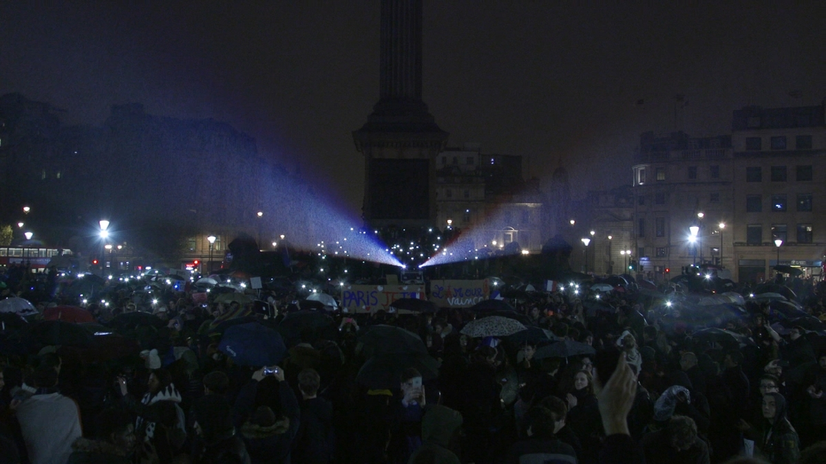 Vigil in Trafalgar Square