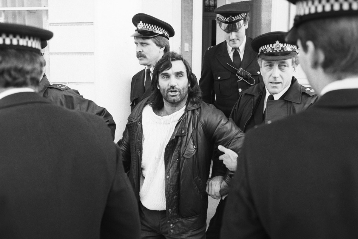 George Best arrest 1984