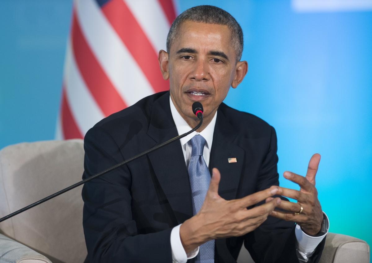 US President Barack Obama at the G20