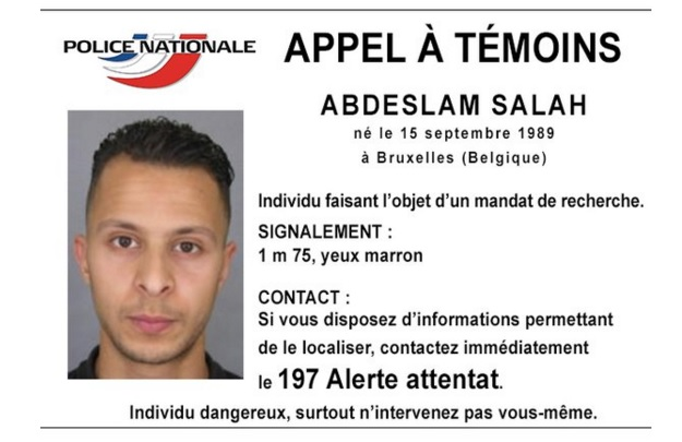 Abdeslam Salah arrest warrant