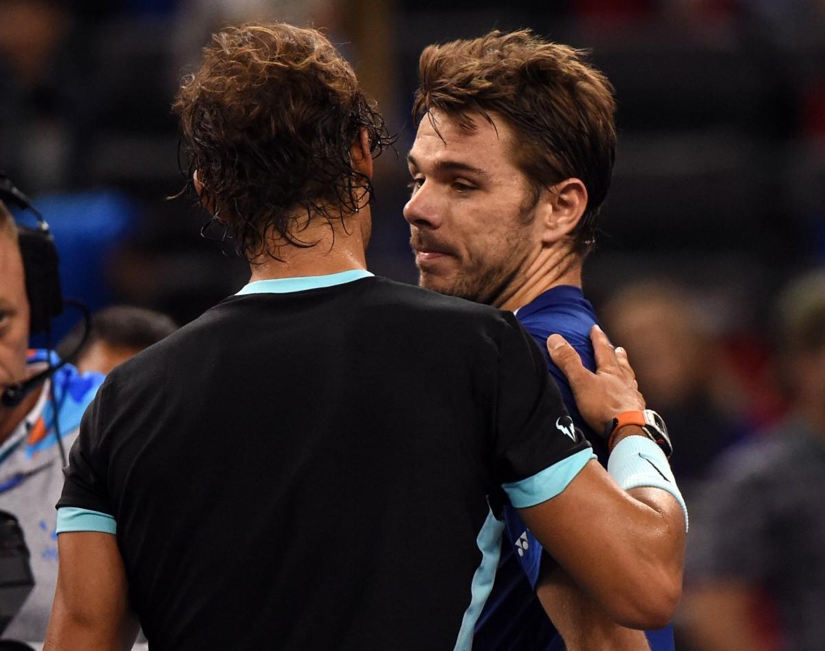 Rafael Nadal and Stanislas Wawrinka