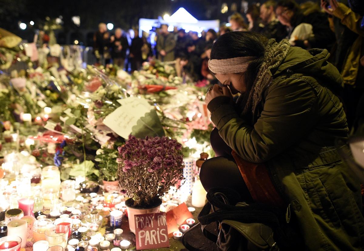 Paris attack memorial