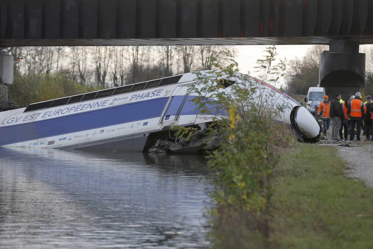 SNCF train crash