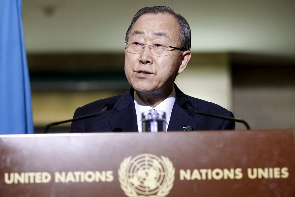 Ban Ki-moon North Korea visit