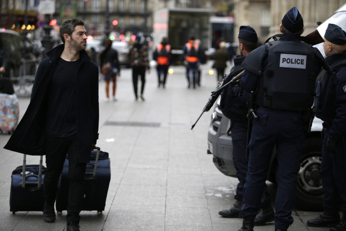 Paris monday after attacks