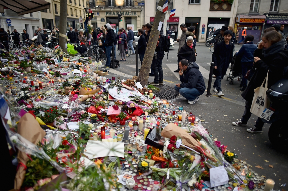Paris Monday attacks France