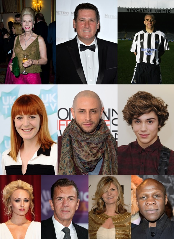 I'm A Celebrity 2015 contestants