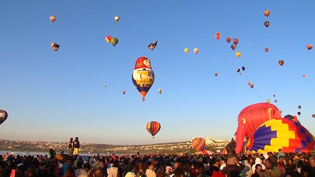 Mexico balloon fesitval