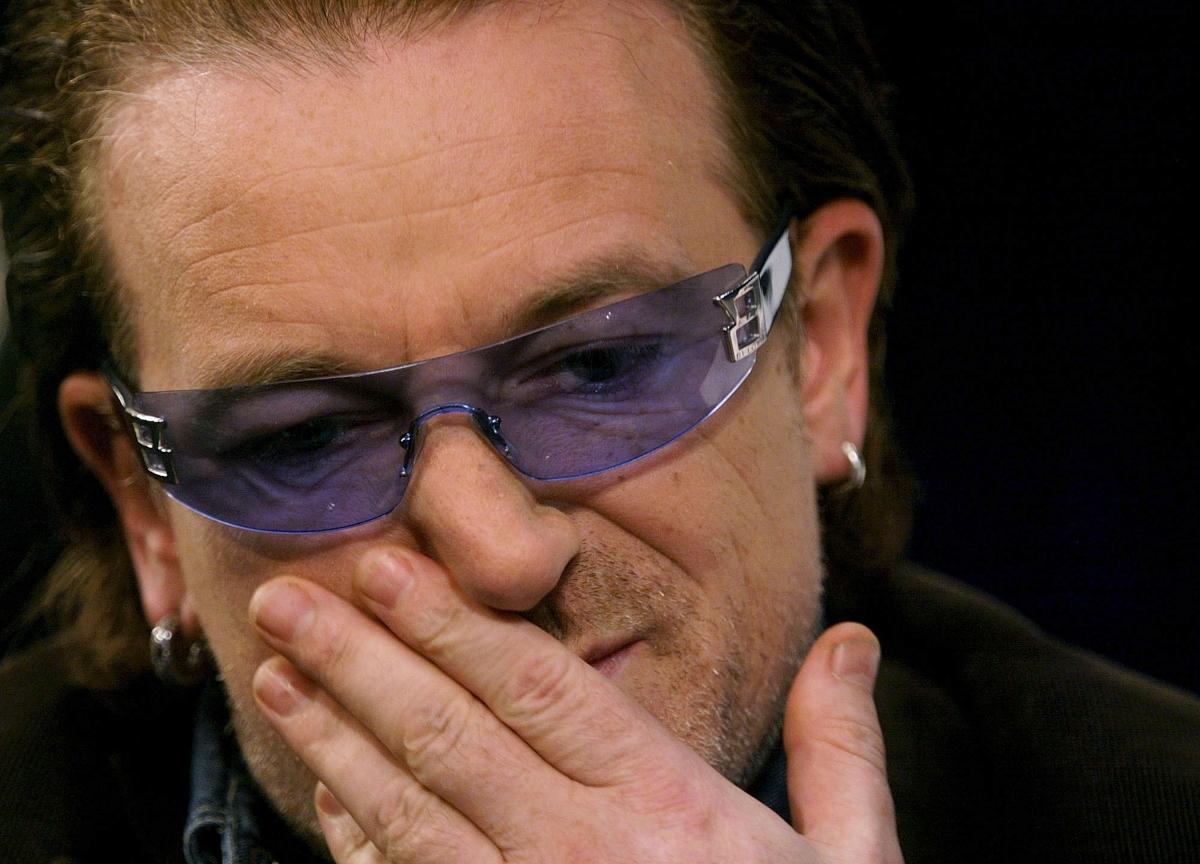Bono the lovable U2 frontman