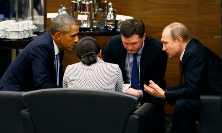Barack Obama Vladimir Putin Russia US