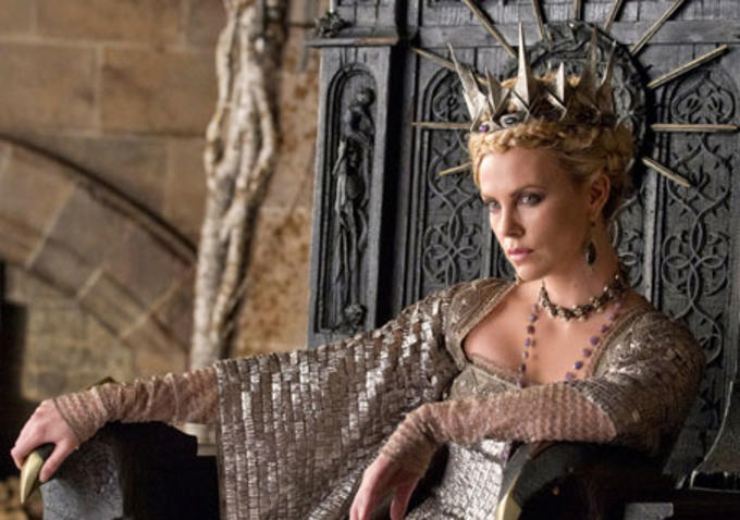 Charlize Theron as The Wicked Queen