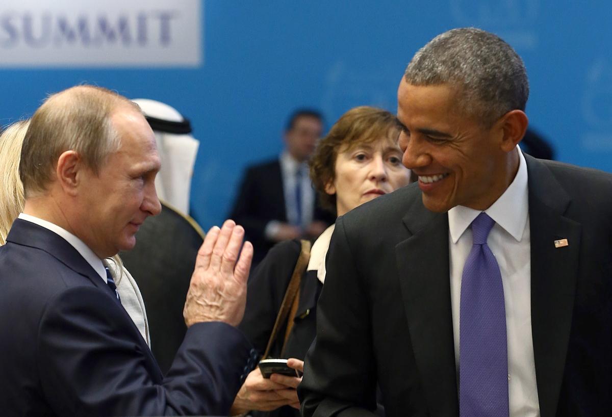 Vladimir Putin & Barack Obama