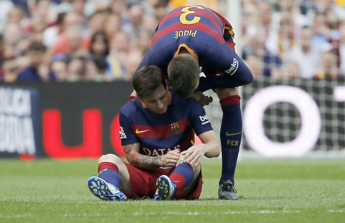 Lionel Messi & Gerard Pique