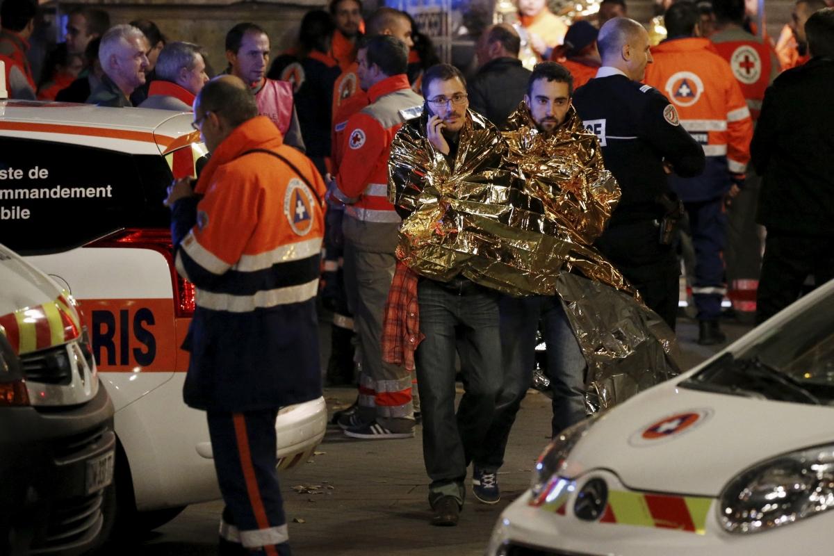 Paris attacks on Bataclan