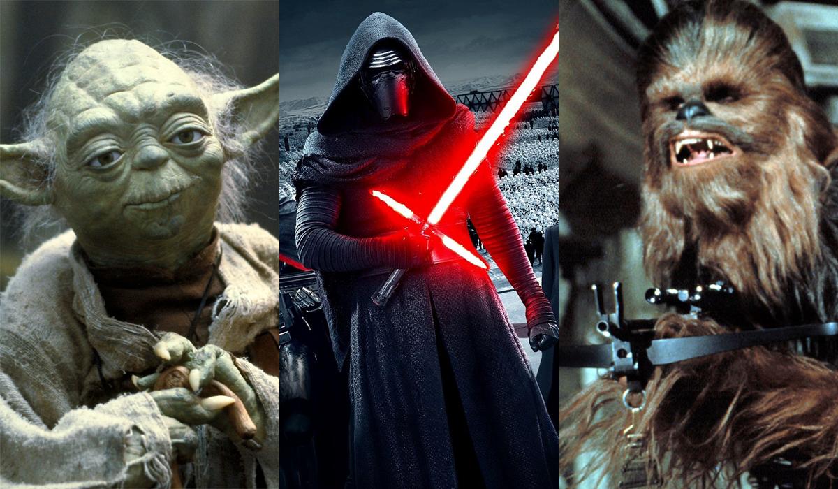 Star Wars Battlefront Yoda Kylo Ren Chewbacca