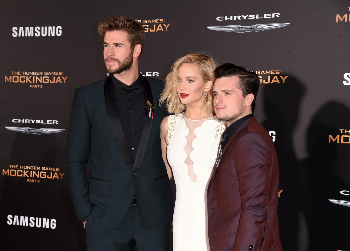 Hunger Games Mockingjay Part 2 LA premiere
