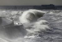 Storm in the UK