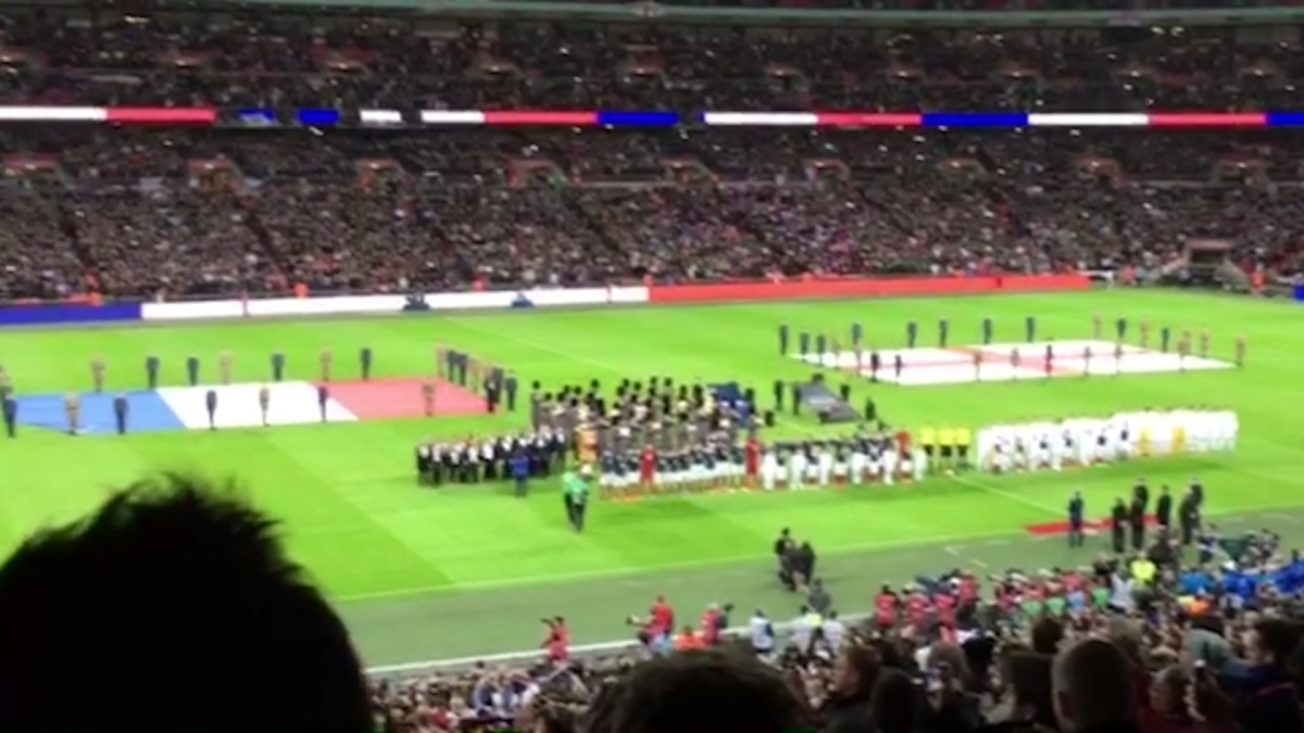 Wembley Marseillaise