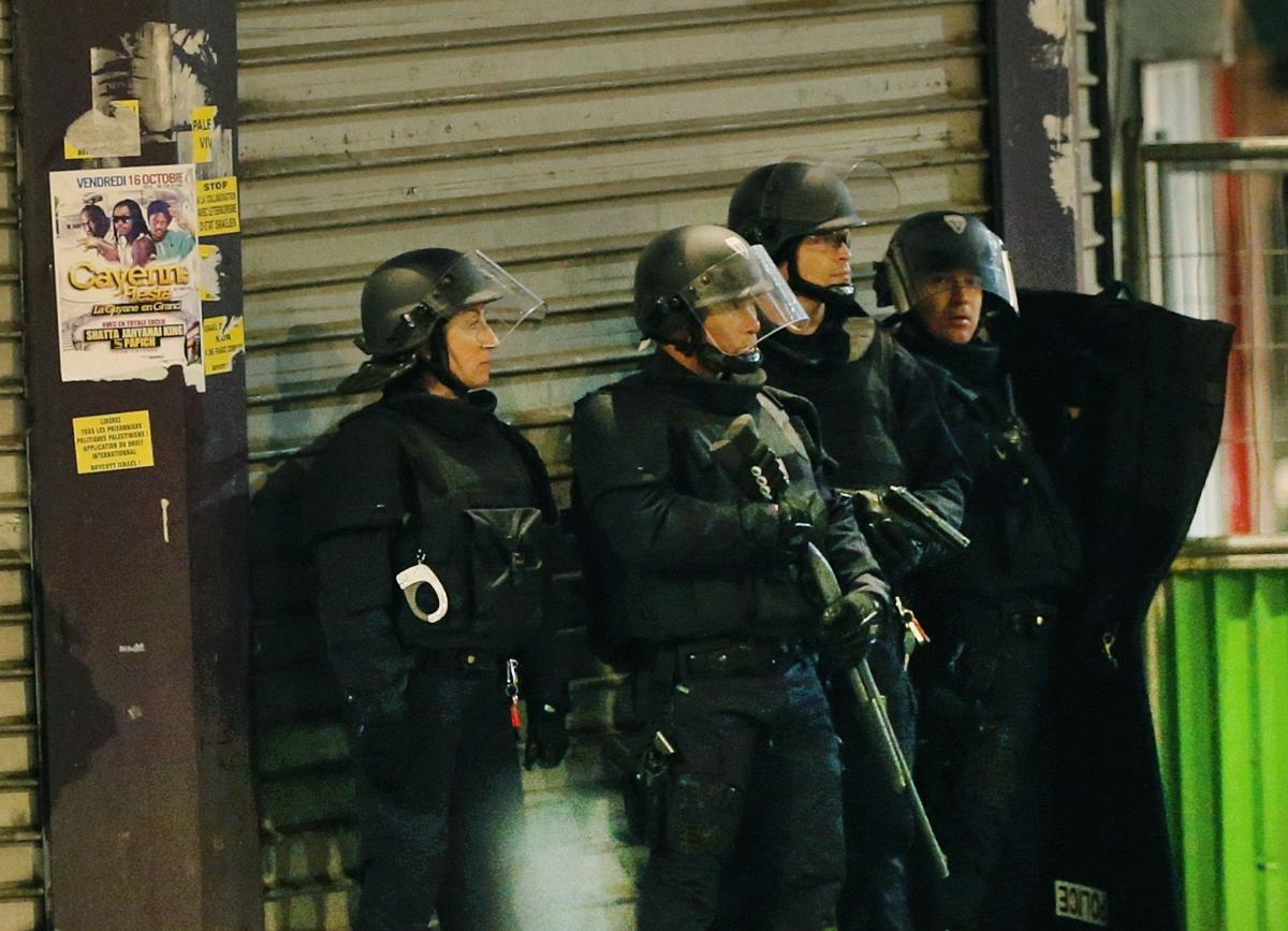 Paris raid Saint Denis