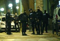 French special police forces in Saint-Denis, France