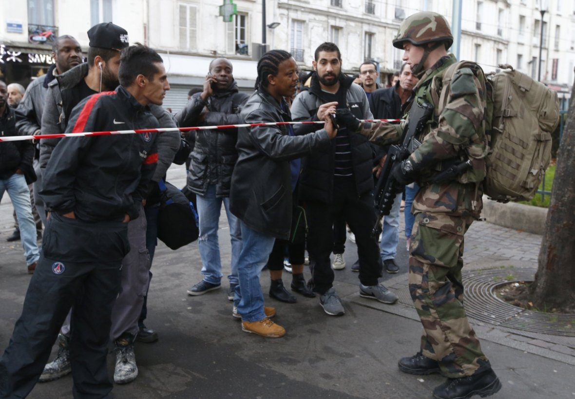 Paris siege after attacks
