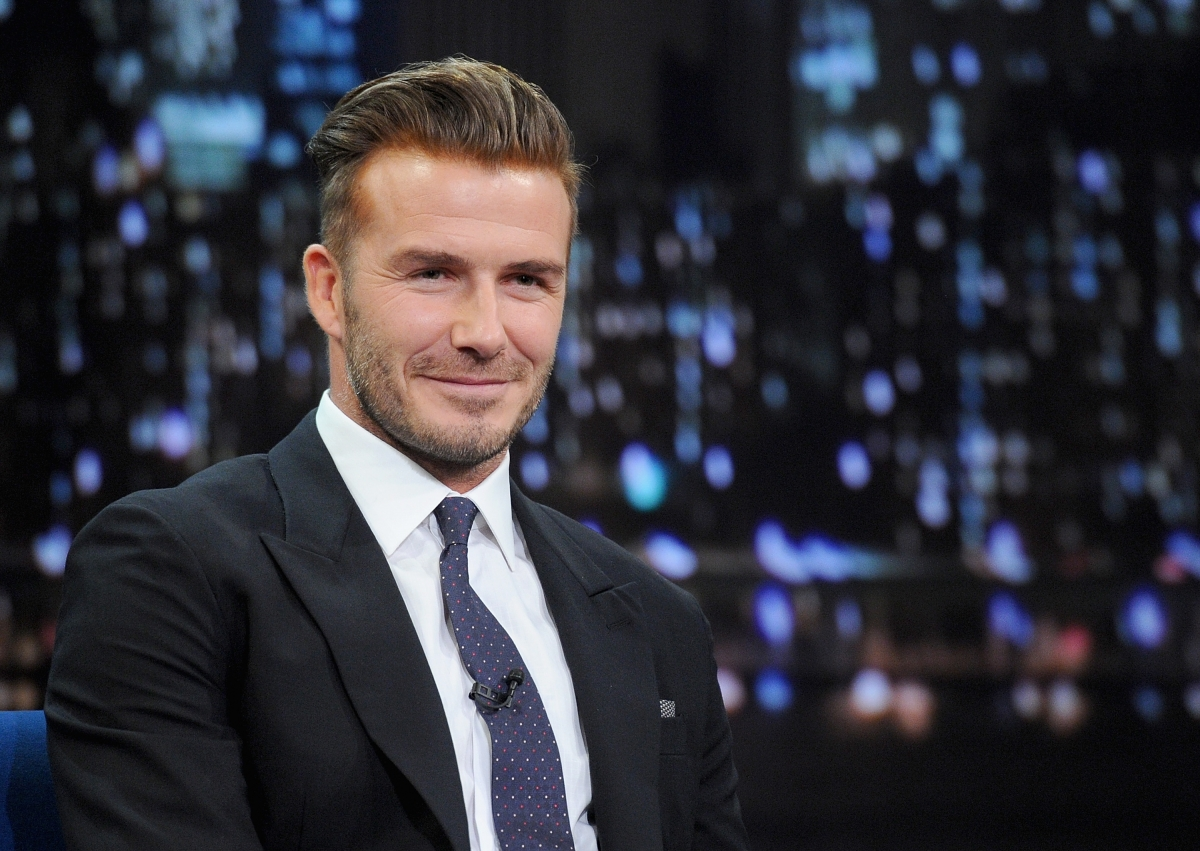 David Beckham crowned Sexiest Man Alive