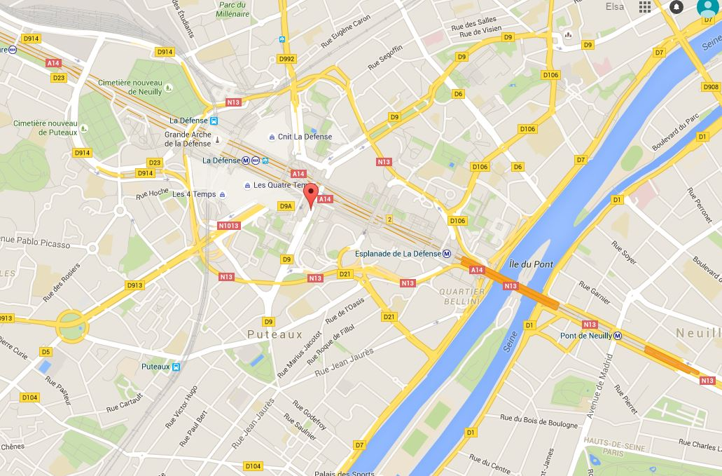 Potential terror plot against Paris Defense
