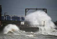 Storm Barney disrupts travel