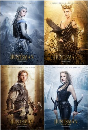 The Huntsman: Winter's War posters