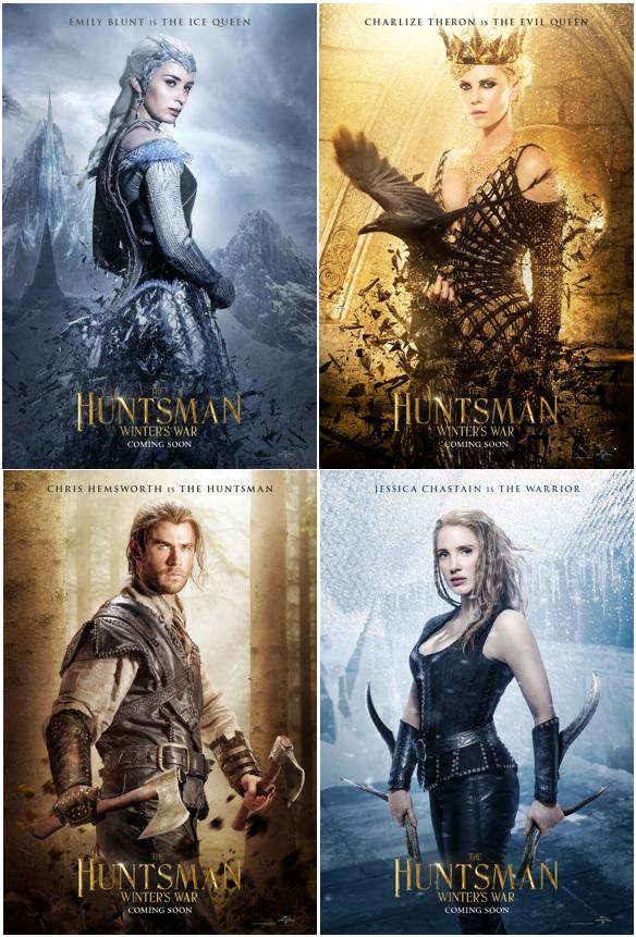The Huntsman: Winter's War posters
