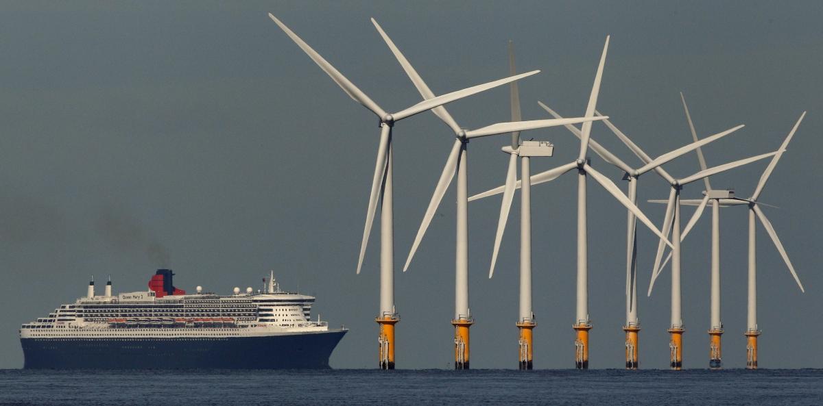 wind farm ferry