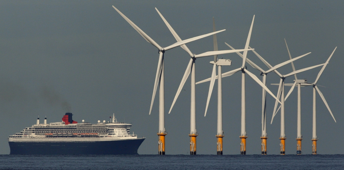 wind farm ferry