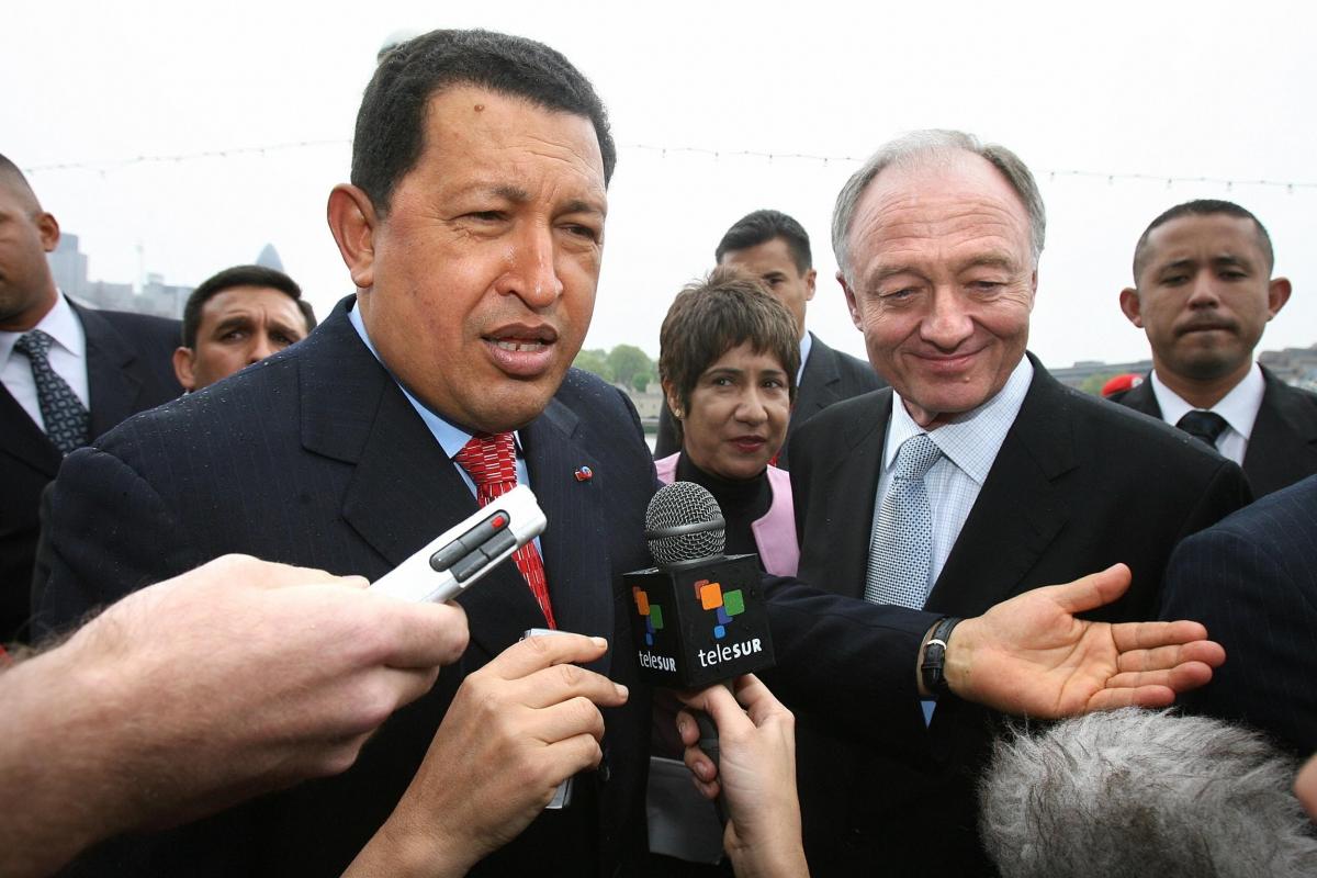 Hugo Chavez Ken Livingstone