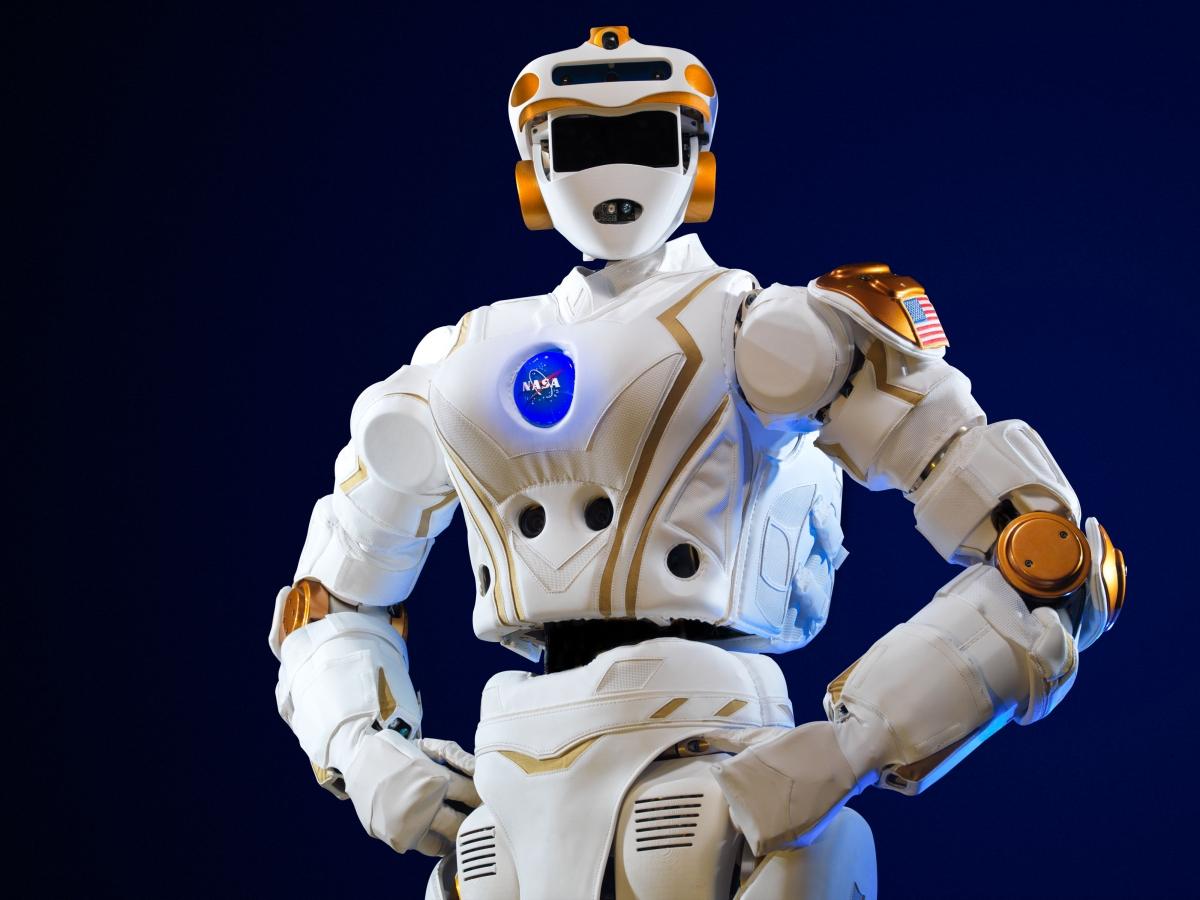 Nasa Valkyrie R5 humanoid robot