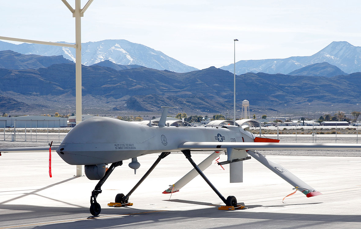 US air force drones