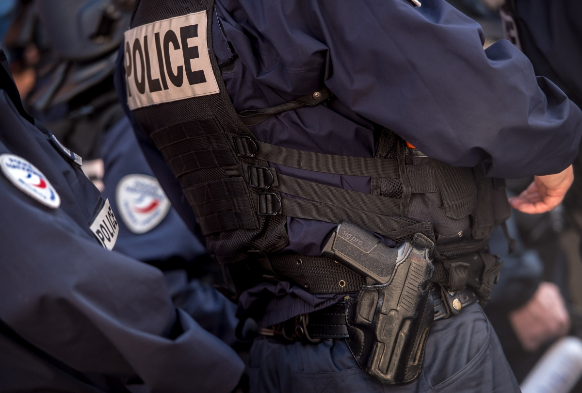 French Police are armed