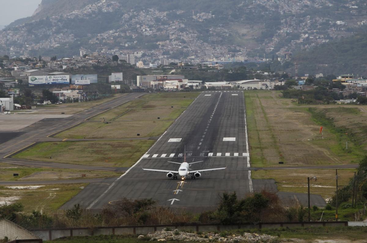 Toncontin international airport