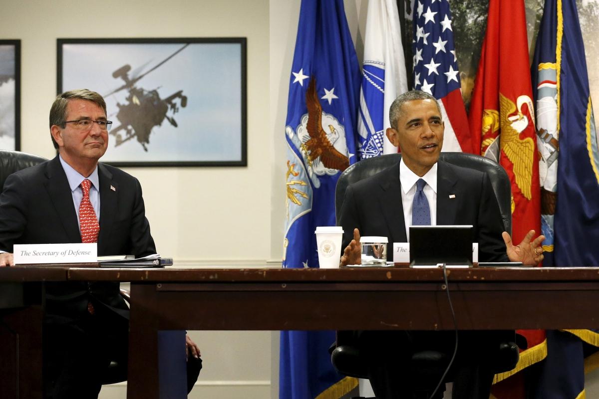 Ash Carter & Barack Obama